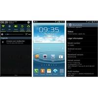 Galaxy S 3 İçin Android 4.1 Test Yazılımı Çıktı