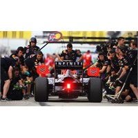 F1'de Pit Stopların Da En Hızlısı Red Bul