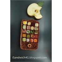 İphone Pastası - İsandwich