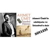 12 Ocak Pazar Kadıköy'de Ahmet Ümit'le Söyleşi Var