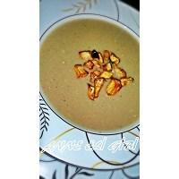 Közlenmiş Patlıcan Çorbası (Sütlü)