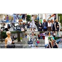 Paris Moda Haftası 2013 Kış Couture Sokak Stilleri