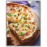 Taze Soğanlı Peynirli Kiş (8 Kişilik)