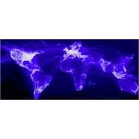 Facebook İle Dünya Haritası
