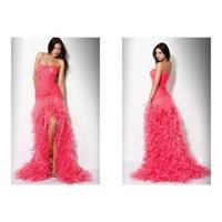 Pembe- Fuşya-mor-lila Uzun Abiye Elbise Modelleri