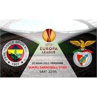 Fenerbahçe 1 – 0 Benfica ( 25/04/2013 )