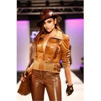 2013'ün Bayan Deri Ceket Modası