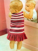 Bebek Elbise Örgüsü(açıklamalı)