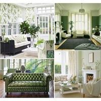 Ev Dekorasyonunda Yeşil-3, Oturma Odaları