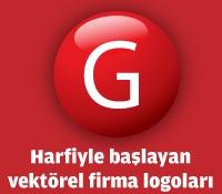 G Harfiyle Başlayan Vektörel Logolar
