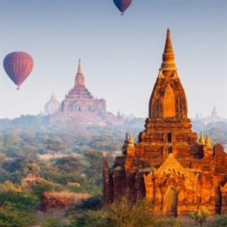 Bagan; magisch Myanmar