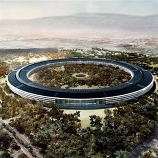 Een kijkje in de tweede Apple Campus