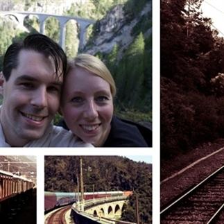 Interview met treinreizigers Kirsten en Nick
