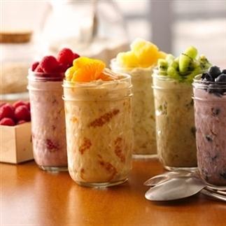 Makkelijk en gezond ontbijten: overnight oats