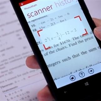 PhotoMath helpt bij wiskunde via smartphone-camera