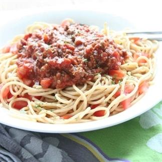 Spaghetti Bolognese van Jamie Oliver