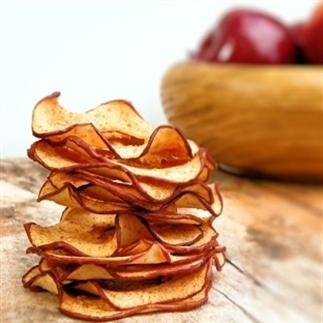 Gezonde snack: Appel Kaneel Chips
