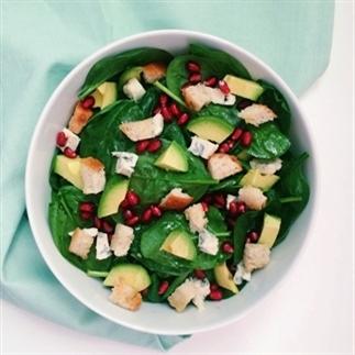 Gezonde Spinazie Salade