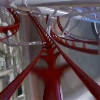 Hoogste achtbaan ter wereld te zien in demo-video