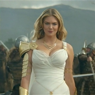 Kate Upton in Game of War Commercial
