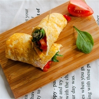 Lunchtip: egg-wraps
