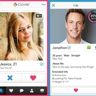 Snel mensen ontmoeten doe je met de app Clover!
