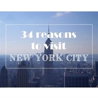 34 redenen om naar NYC te gaan