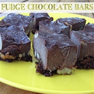 Fudge chocolate bars