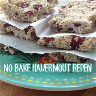 No bake havermout repen