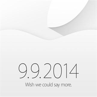 Apple nodigt pers uit voor event op 9 september