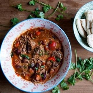 Chili con carne met een twist