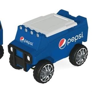 Deze auto brengt gekoelde drankjes naar je toe!
