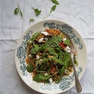 Italiaanse quinoasalade met geitenkaas
