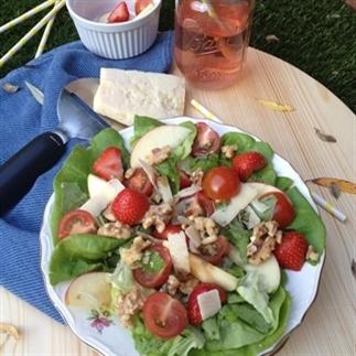 Salade met een vleugje Italië