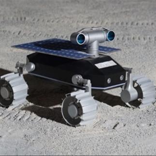Cool: rover robot op de maan