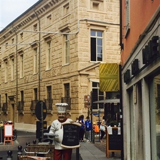 Mantova een mooi stadje in Italië