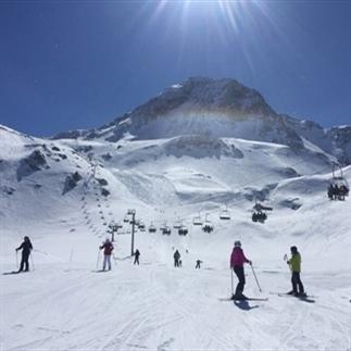 Skiën doe je in de lente!