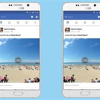 360-graden-foto komt naar Facebook News Feed