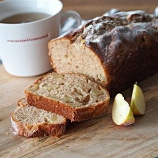 Lente appel kwark cake