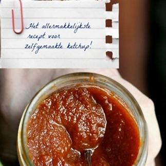 Zelf ketchup maken.. Super makkelijk!