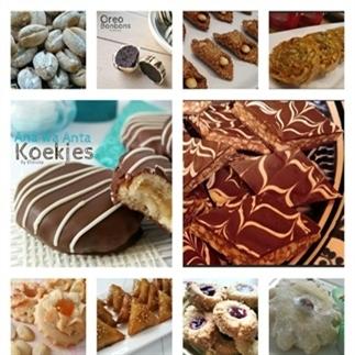 64 koekjes op een rij!