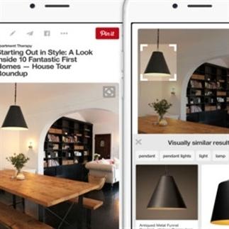 Pinterest-dromen komen uit met Visual Search tool