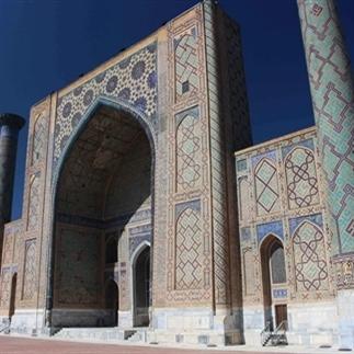 Samarkand, de blikvanger van de zijderoute