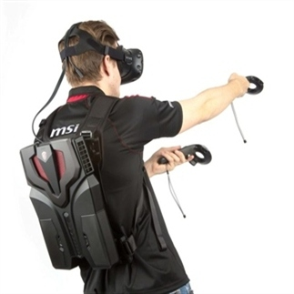 Echt mobiel gamen met VR Backpacks