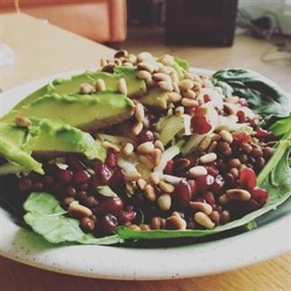 Recept: heerlijk frisse spinaziesalade