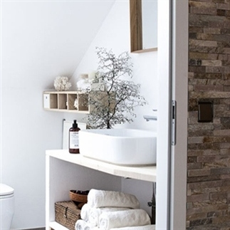 Badkamer ideeën voor een natuurlijke badkamer