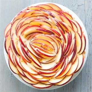Appel rozen taart