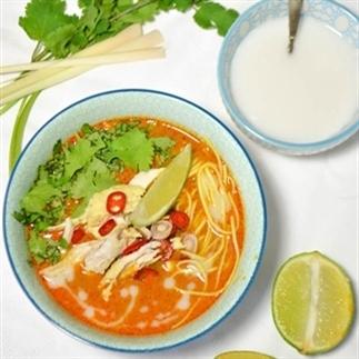 Chiang Mai currysoep