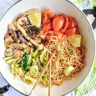 5 x Snelle Aziatische recepten