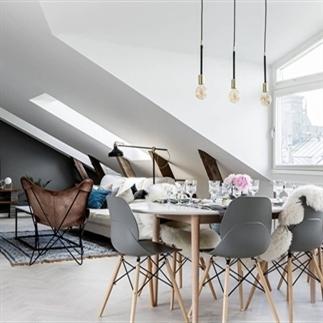 Binnenkijken in een Scandinavisch appartement